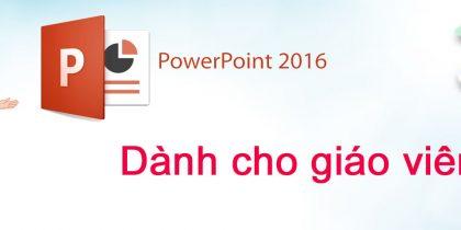 giáo án điện tử powerpoint